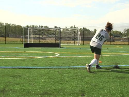 SUNY Oswego turf field revealed