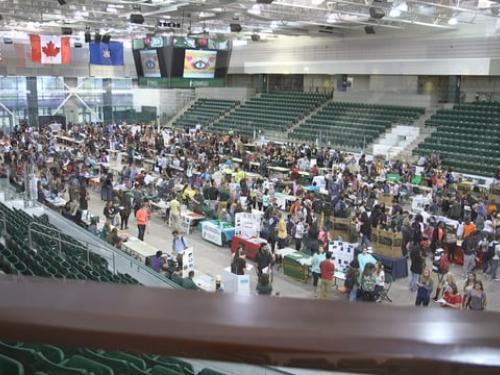 SUNY Oswego student involvement