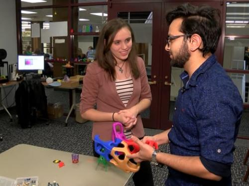Makerspace in SUNY Oswego's Penfield Library