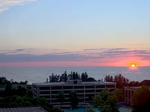 Sunset: July 23, 2020 time lapse from new webcam