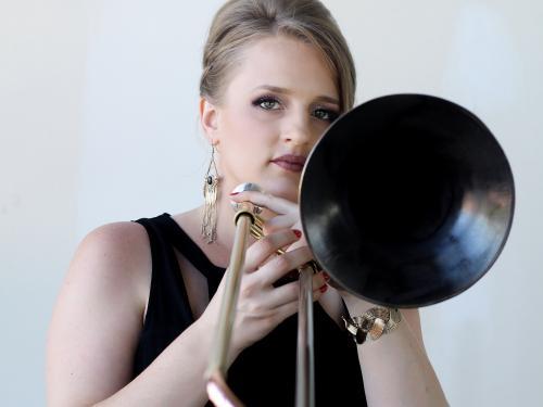 Acclaimed trombonist Melissa Gardner