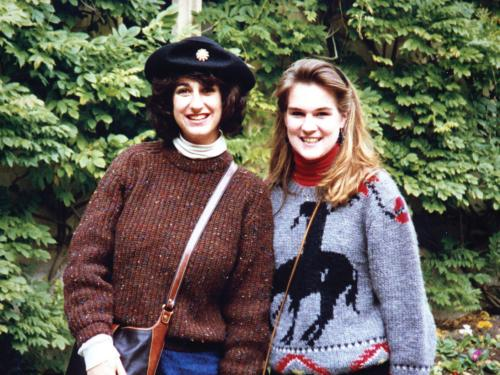 Colleen Brunner '90 and Lynne Hartunian '89, Oswego students lost in the Pan Am 103 bombing in 1988