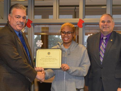 University Police honor Destiney Day