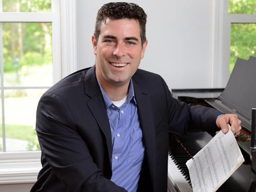Robert Auler at piano