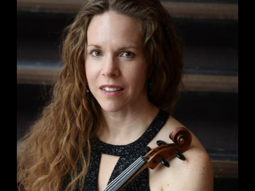 Sonya Williams, assistant concertmaster of Symphoria, is part of the Salt City String Quartet performing in the Ke-nekt' Chamber Music Series