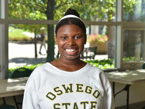 Student Samia Montgomery has overcome a lot to earn a statewide scholarship
