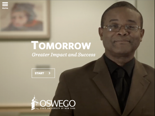 Tomorrow: SUNY Oswego's Strategic Plan