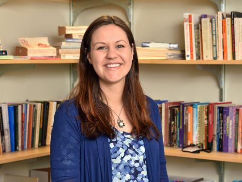 Joanna Goplen directs Oswego's gender and women's studies program