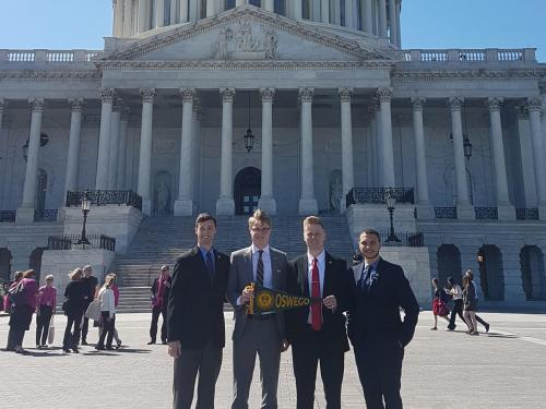 Students on Capitol Hill