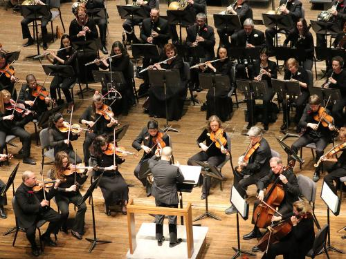 Symphoria orchestra in concert