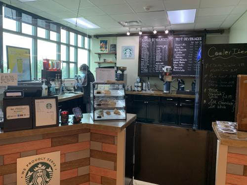 Wall Street Market in Rich Hall has added Starbucks product