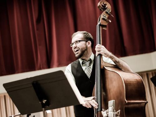 Danny Ziemann on bass