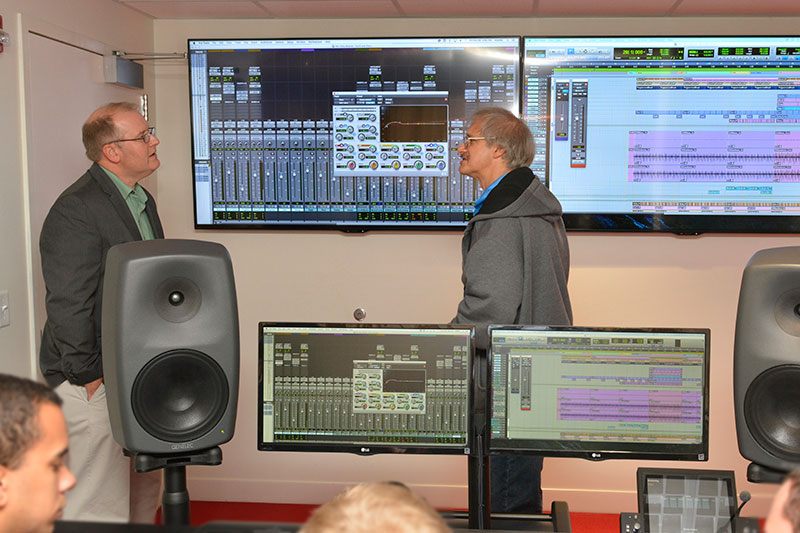Dan Wood and Larry Rubinstein discuss new recording studio