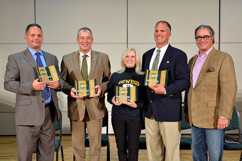 Oswego Athletic Hall of Fame celebration