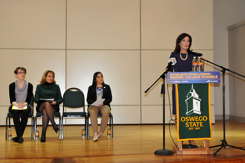 Lt. Governor Kathy Hochul speaks