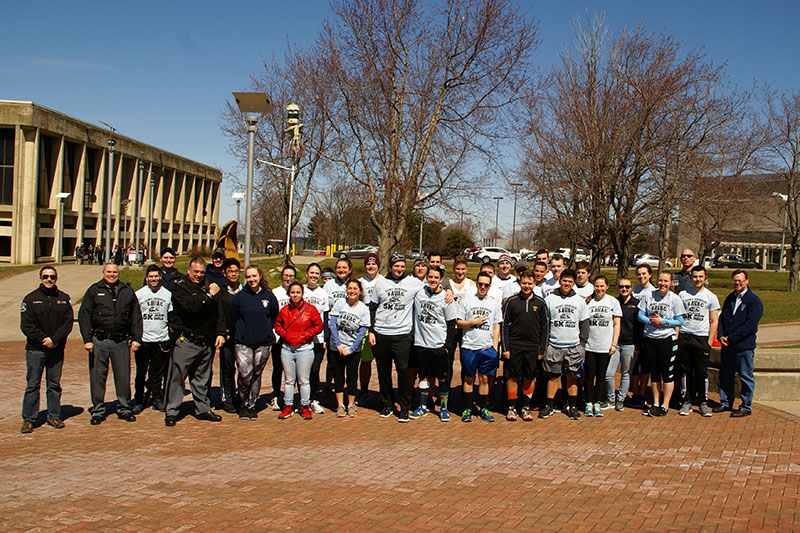SAVAC members, other participants after 5K fundraiser