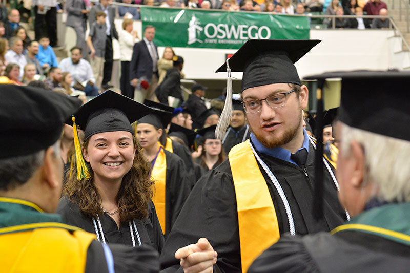 Kenny Roffo and Nina House at Commencement