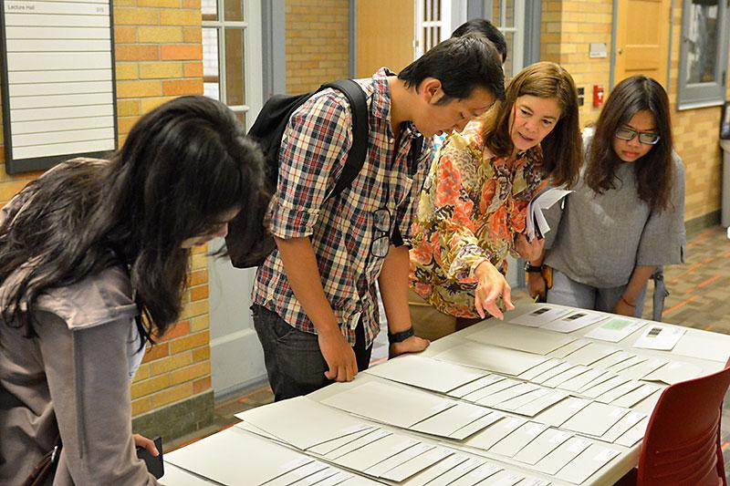 Jo Richardson welcoming international students