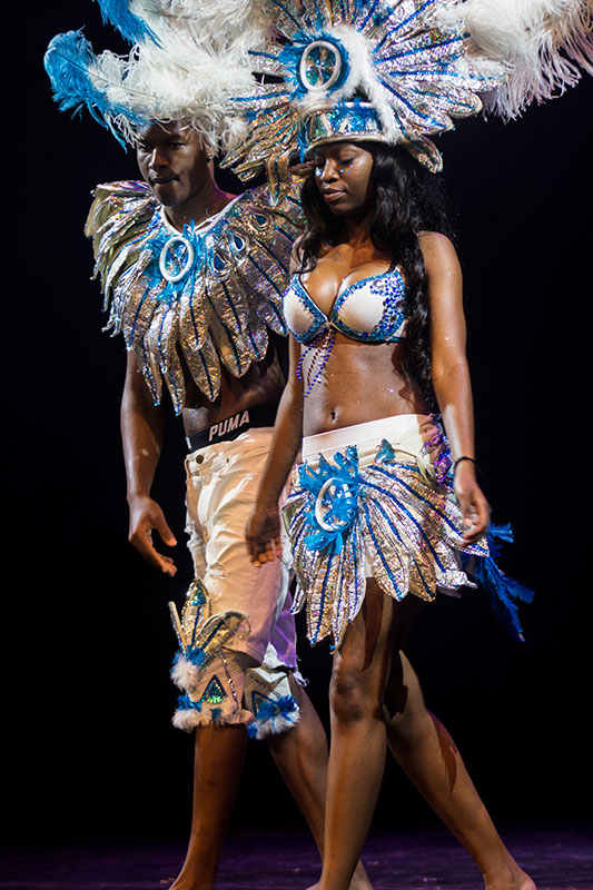 Caribbean Student Association dancers at ALANA Fashion Show