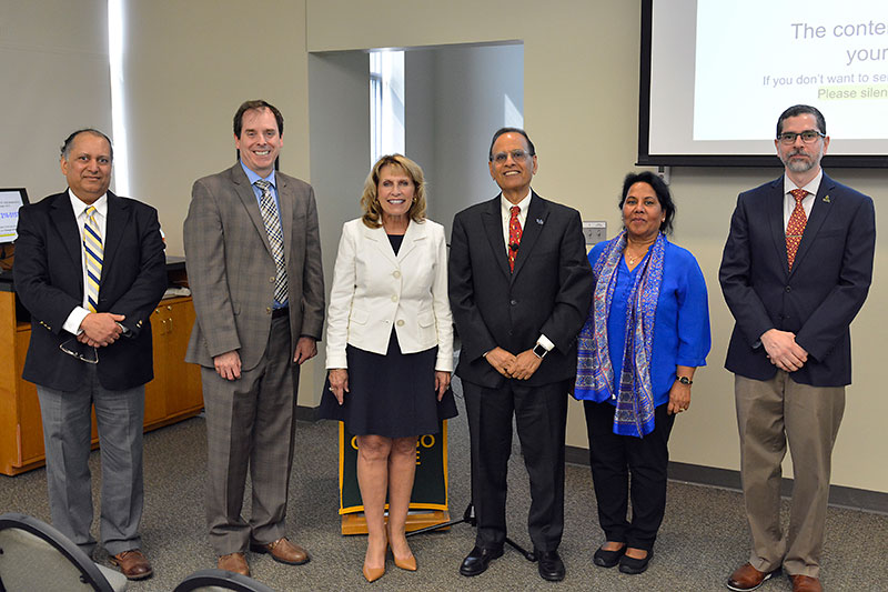 Speakers, organizers gather for Year of India launch