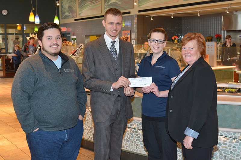 Student generosity supports hurricane relief