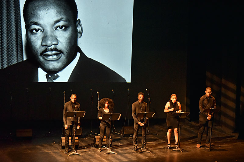 Students present King's 'I Have A Dream' speech
