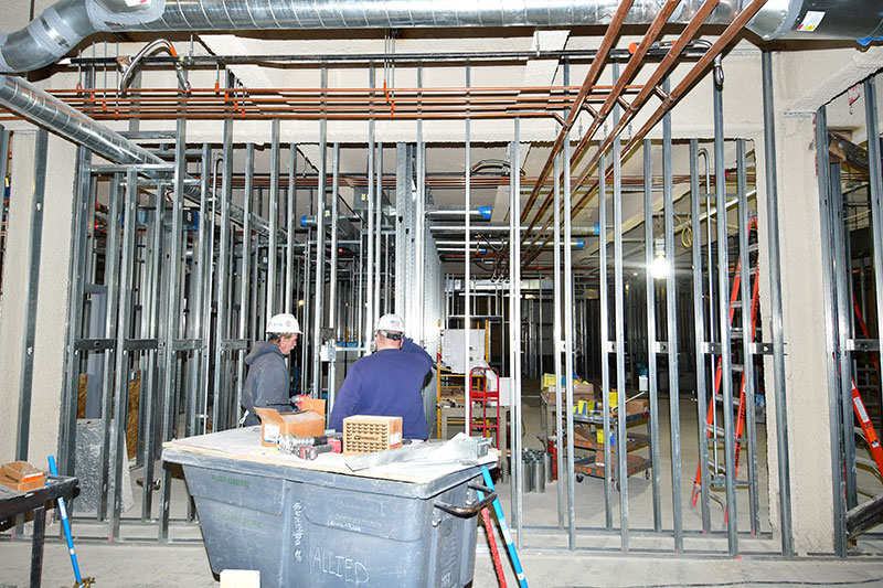 Renovations continue for Wilber Hall