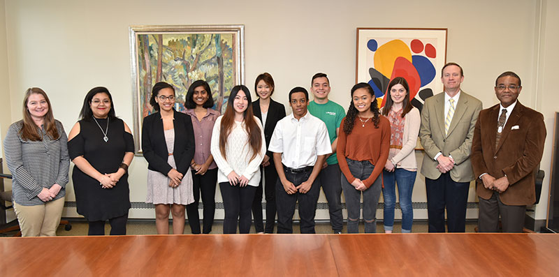 The college, SUNY celebrated 11 Empire State Diversity Honors Scholarship winners