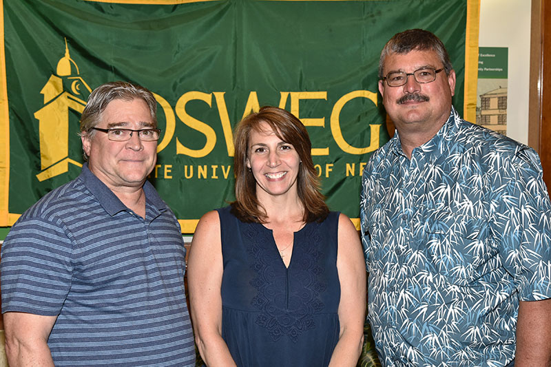 SUNY Oswego honors 10-year employees