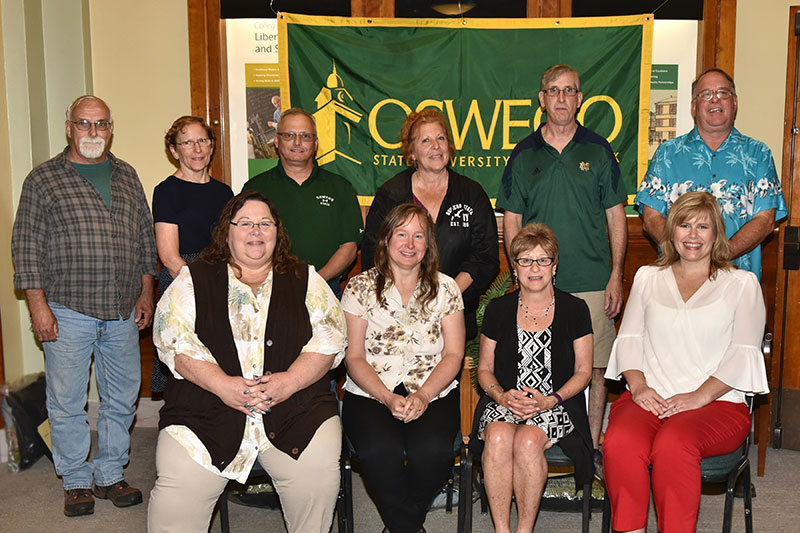SUNY Oswego honors 20-year employees