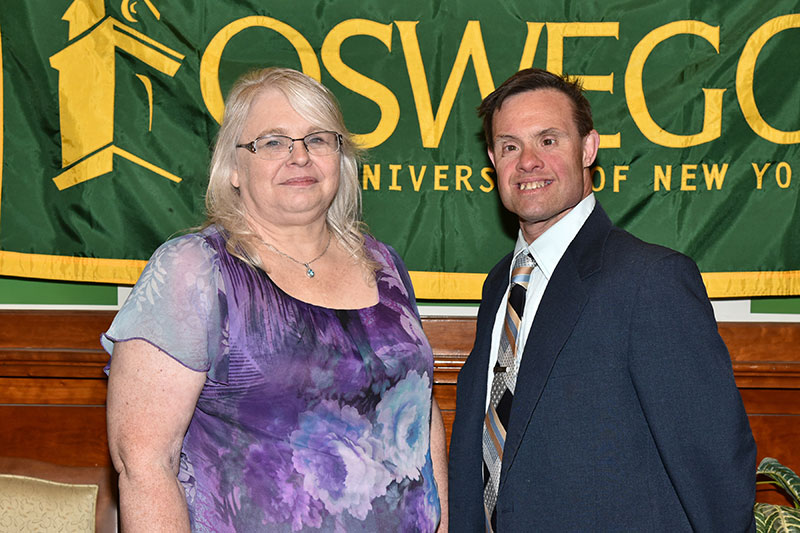 SUNY Oswego honors 30-year employees