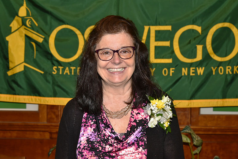 SUNY Oswego honors 40-year employees