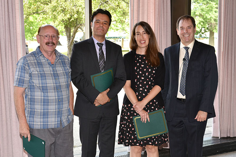 Top junior faculty teachers honored