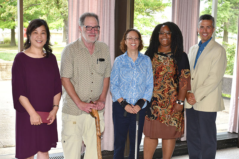 Top campus researchers honored