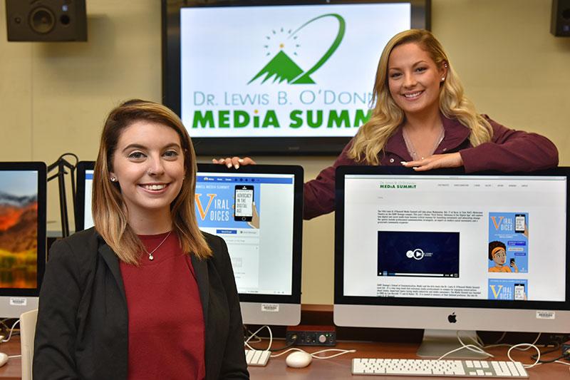 Media Summit student organizers