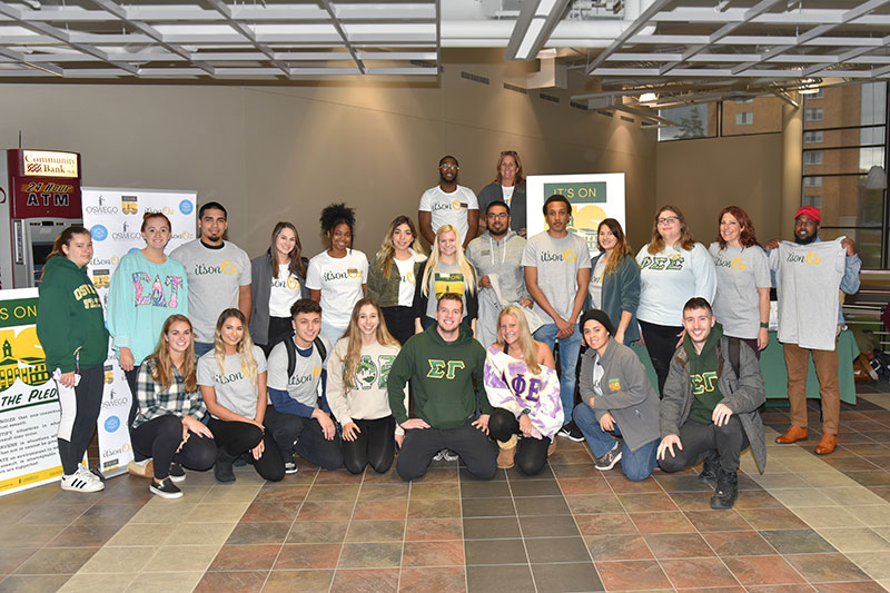 Campus members support pledge against sexual violence