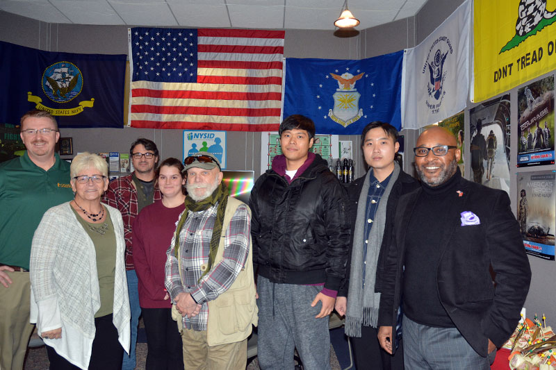 SUNY Oswego honors veterans at luncheon