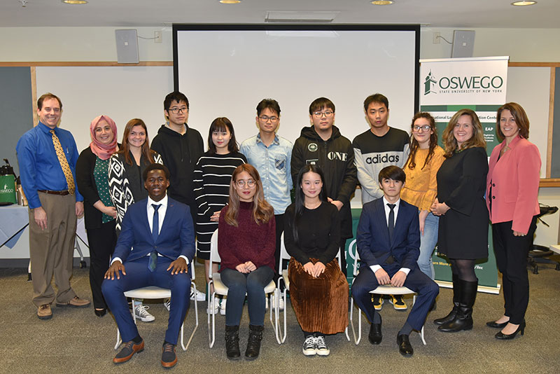 Students graduate from year-round Intensive English Program