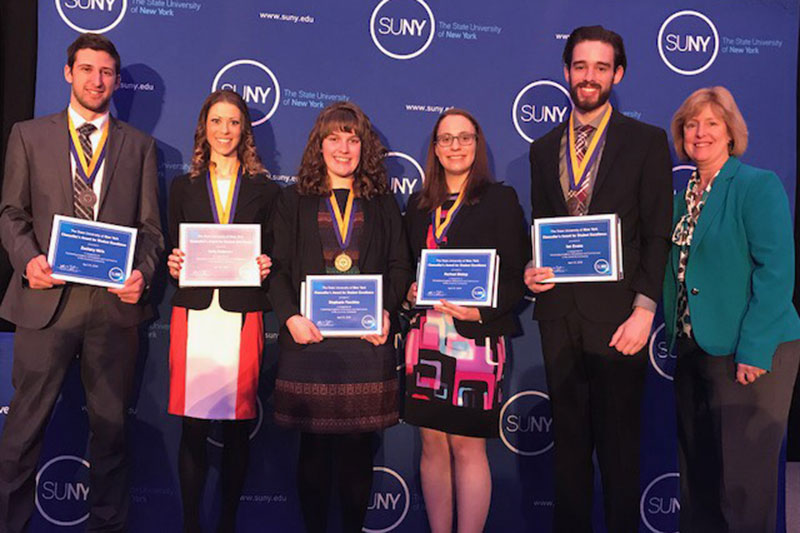 Chancellor's Award for Student Excellence winners congratulated