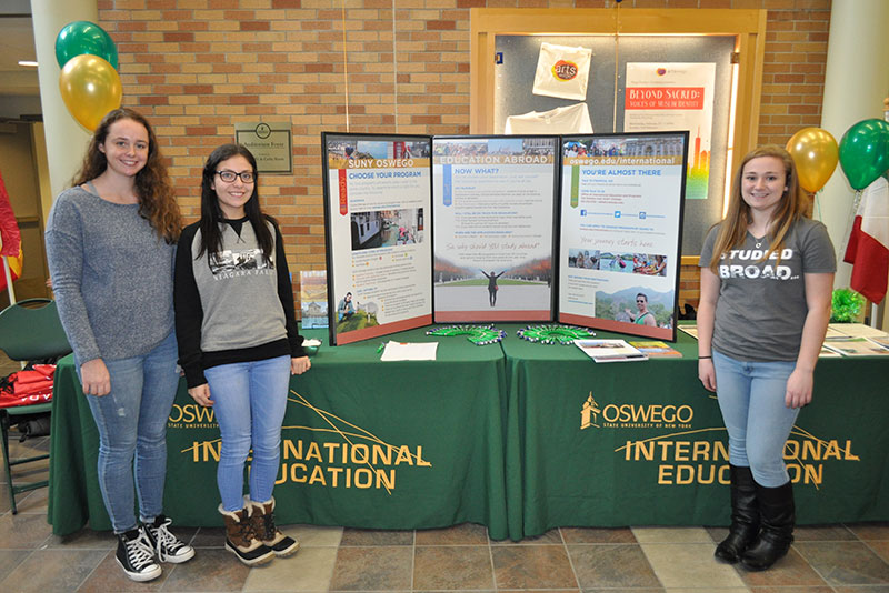 Office of International Education and Programs represented at Study Abroad Fair