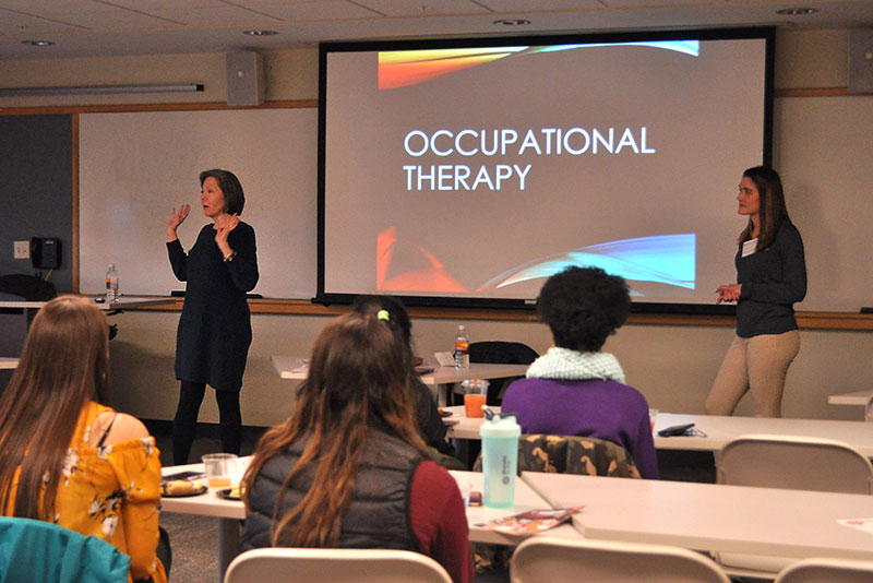 Health Care Careers Conference occupational therapy presentation