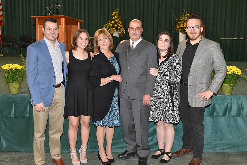 The McLoughlin family celebrates its legacy at SUNY Oswego
