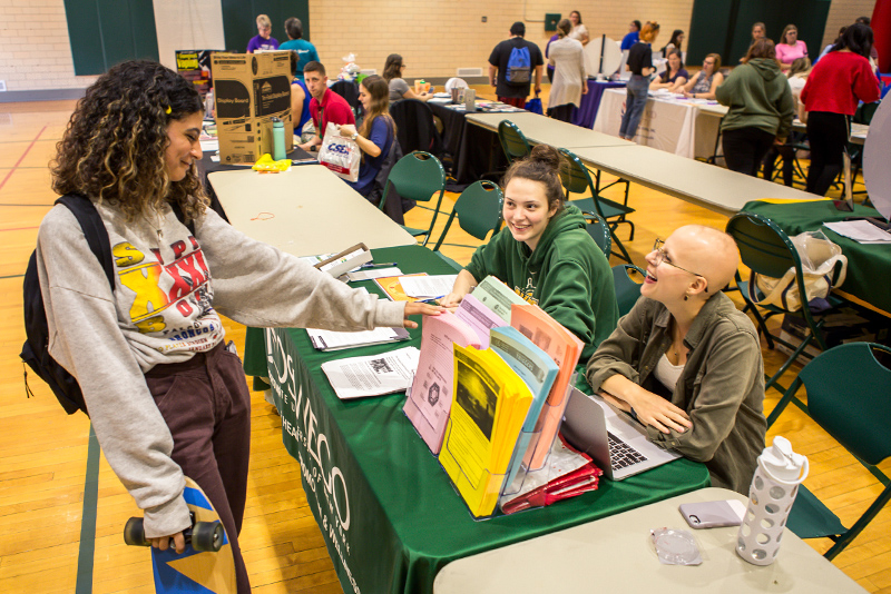 Students learn and make connections during Mental Health and Wellness Fair