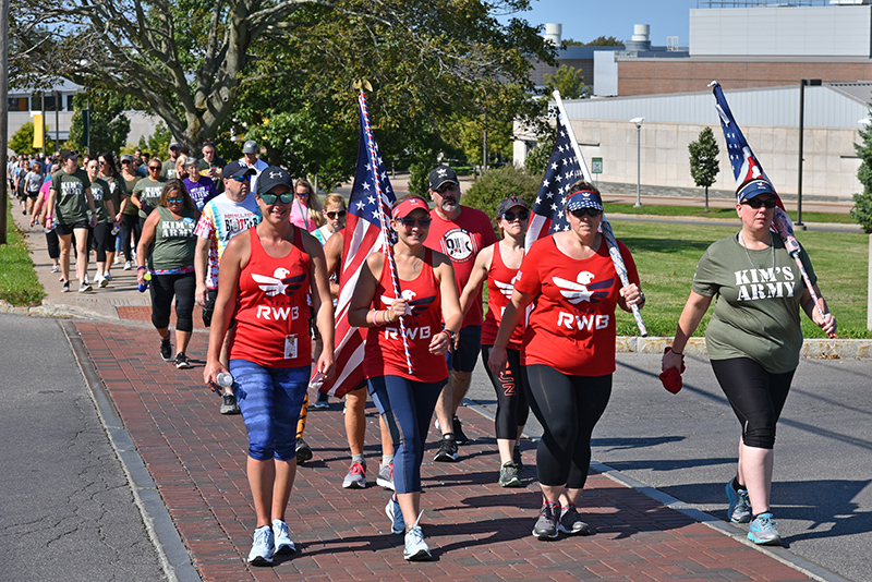 Team RWB leads Stride to SAVE Lives suicide awareness and prevention walk