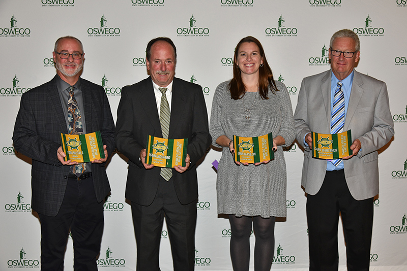 2019 inductees into Oswego Athletic Hall of Fame
