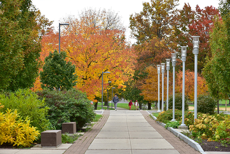 The past weeks have seen the fall foliage showing out, including this Oct. 25 view that greeted attendees of the 80th annual Fall Technology Conference
