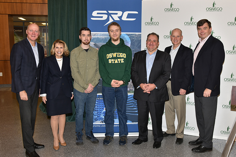 SUNY Oswego, SRC announce $1 million gift for endowed engineering professorship