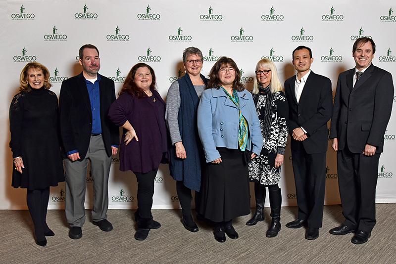 New full professors at SUNY Oswego honored