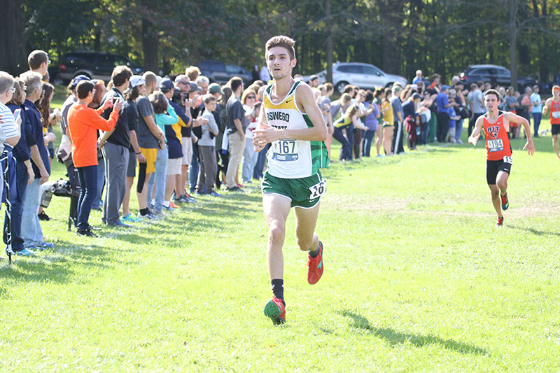 Colin Greenseich running cross country