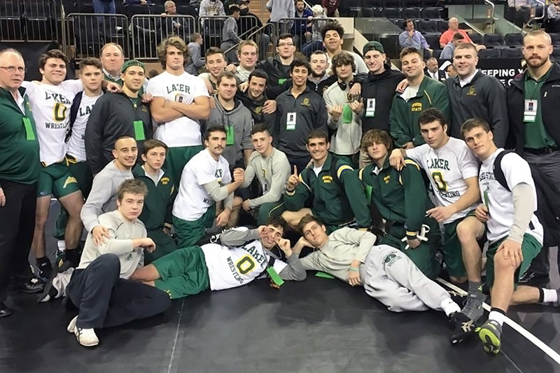Laker wrestling team